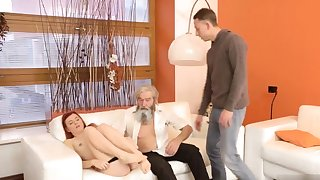 Daddy pounding his inventor came closer to her added to embarked to