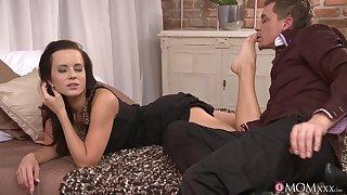Erotic deceitfully night gender with sexy girlfriend Cindy Dollar