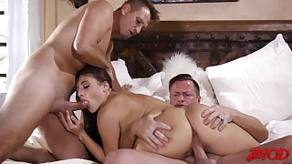 Hard Sex Double Teaming Action Gia Derza
