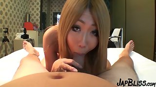 Japanese College Pupil With Huge Natural Melons