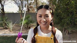 Two Fugitive Asians Love Love Making - Elle Voneva