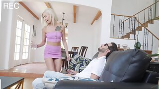 Impeccable hotel locality confining cam sex leads sis to crazy orgasms