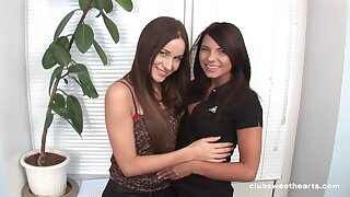 Lesbian pussy and ass eating -  Lupe Burnett and Ashley G