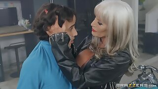 Sizzling Granny Sally D'Angelo Seduces Latina Youngster Ricky