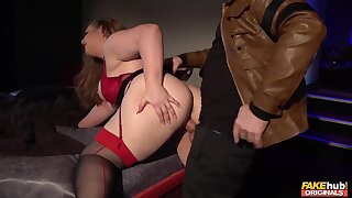 Anal hardcore with adipose - The Fuzz Part - Marc Delicate situation