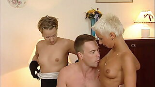 German swinger systematize - 90s retro with young Mandy Riddle