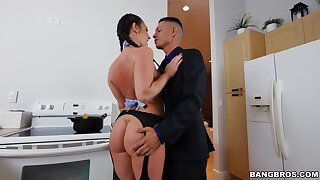 Hardcore pussy and botheration drilling with stunning Brittany Shae