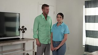 Nubile Films: Dishwater Less On the top of My Boss, Alex Coal On the top of PornHD
