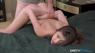 Sweetie gets fucked to hardcore by the needy mandate sibling