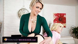 MILF Stepmom Teaches Kenzie Reeves The Negligible Of A Bolster