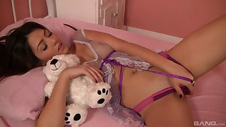 Creature lesbian teen pussy licking with Candy Manson with the addition of Cassie Laine