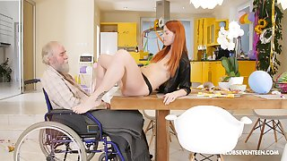 Teen deuce Charli Red-hot blows and rides an older guys detect