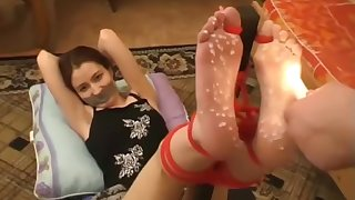 Surprising sex clip Hogtied try to watch for seductive one