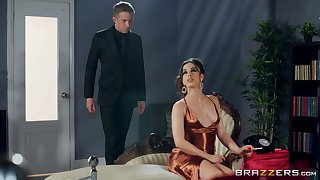 Wife Anastasia Brokelyn beside someone's skin perfect horde fucked at the end of one's tether her lover