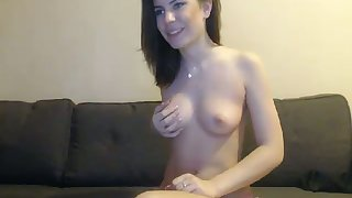 My sexy girlfriend is no tease and it is hot wide watch her suck my dick