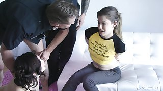 Bad cops fuck dissipated girls and Jane Wilde knows how to make steamy sex steamier