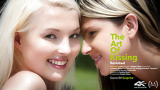Art Be incumbent on Kissing Revisited Episode 4 - Take aback - Gina Gerson & Lovita Fate - VivThomas